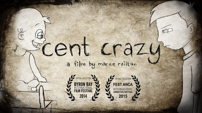 Cent Crazy short animated film poster