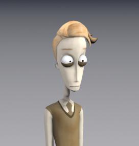 Edwin 3D Character Design