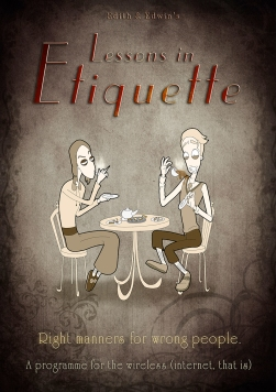 Lessons in Etiquette: Poster Art