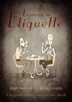 Lessons in Etiquette: Poster Art