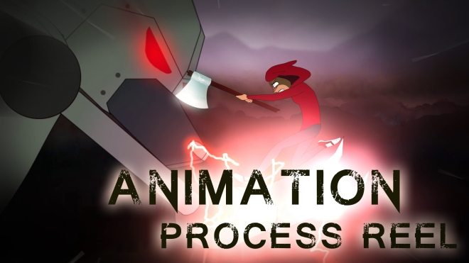Animation Process Reel: Little Red Robot Hunter